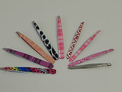 1x New Professional Eyebrow Tweezers Hair Removal 10 colors ** Limited Offer