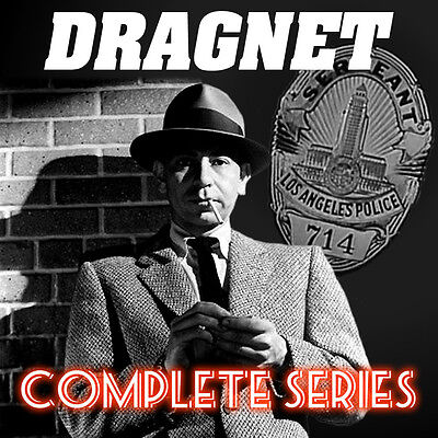 Dragnet - Radio Show - OTR - All Existing Episodes - 8 MP3 CDs