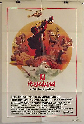 Rosebud - Peter O'toole / Richard Attenborough - Original Usa 1Sht Movie Poster