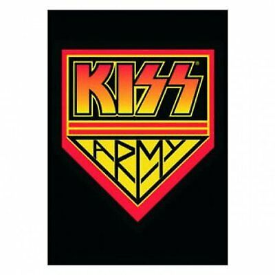KISS Army Postcard Band Logo Image Picture 100% Official Licensed Merchandise