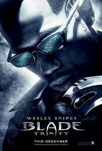 BLADE TRINITY 27X40 D/S Original Movie Poster One Sheet WESLEY SNIPES