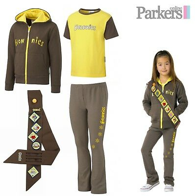 Official Brownies Set Includes Hoodie, Short Sleeve T Shirt, Leggings And Sash