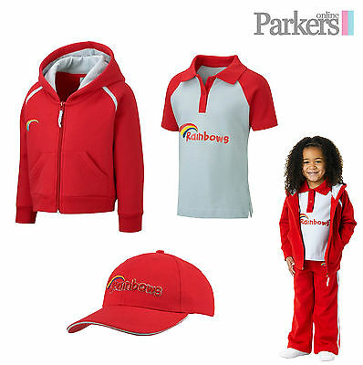 New Official Rainbows Set Includes Hoodie/hooded Sweatshirt, Polo Shirt And Cap