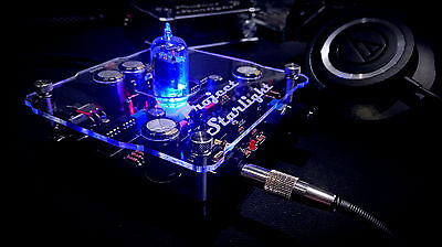 Project Starlight Tube / Quad Opamp / Headphone Amplifier / Diy Kit / Us Seller