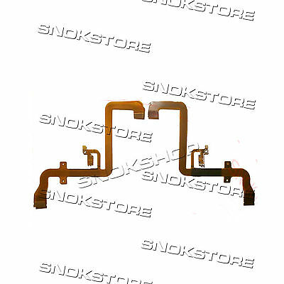 New Lcd Flex Cable Cavo Flat For Videocamera Panasonic Pv-Gs500 Pv-Gs508 Part