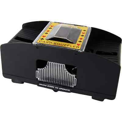 Battery Automatic Card Shuffler Sorter for 2 Decks Playing Cards Shuffle casino