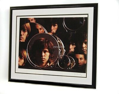 "The Doors ""Mirrors"" Lithograph - Joel Brodsky Plate Signed - Jim Morrison"