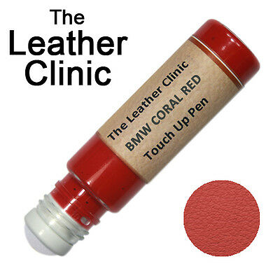 BMW CORAL RED Leather Touch Up Scratch Repair Pen