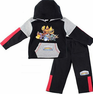Kids Boys SKYLANDER Hero Character Hooded Tracksuit Outfit & Sets,2 4 6 8 YRS
