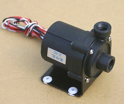 DC 12V 1.2A 14W Pump Water Cooler Motors Speed Line No Brushless 3-pin Plug