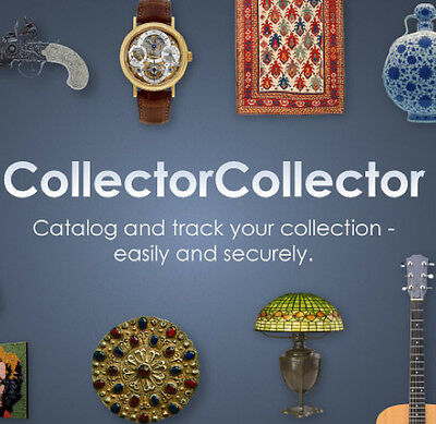 Catalog your Native American art with a 1YR CollectorCollector subscription.