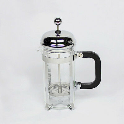 350ml French Tea&coffee plunger/maker Filter press pot with spoon HJ223A