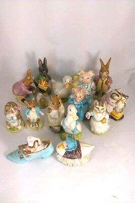 A Selection Beswick Beatrix Potter Figures! Made In England!! Lovely Items!