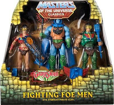 The Fighting Foe Men™ 3-PACK 2013 Masters of the Universe® Classics He-Man MISB