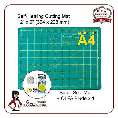 Self-Healing Cutting Mat > A4 and OLFA 45mm Blade for rotary cutter spare blades