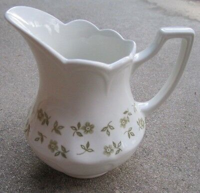 Staffordshire Creamer BLOSSOM TIME Ironstone By J.G. Meakin England