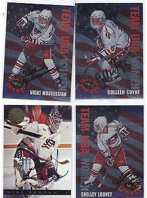 Mike Dunham Signed / Autographed Hockey Card Team USA 1993 Classic