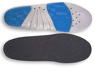 SureSoles Full Length Foot Work Athletic Sport Braces/ Support insoles Mens Size