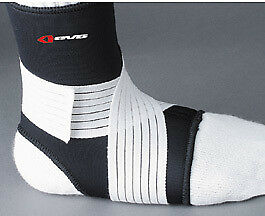 EVS Adult MX ATV Black AS14 Ankle Support Stabilizer S-XL Large (10-12) AS14BK-L