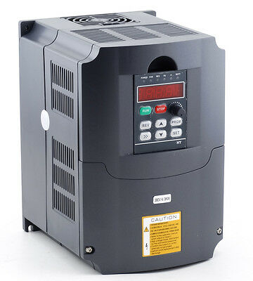 CNC Variable Frequency Drive Inverter VFD 4KW 380V for CNC Spindle Engraving