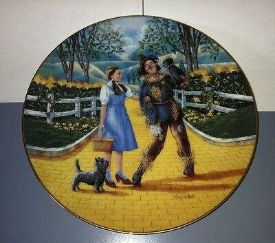 Wizard of Oz Collectable Plate
