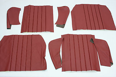 Porsche 356 1960 - 1965 Coupe Or Cabriolet Rear Seat Covers