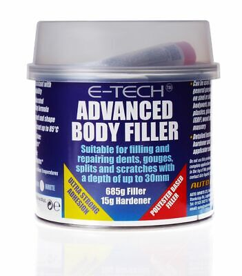 Car Anti Rust Dent, Gouge, Splits & Scratch Repair Advanced Body Filler (500g)