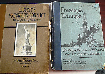 Freedom' Triumph and Libertys Victorious Conflict Copyright 1918 & 1919