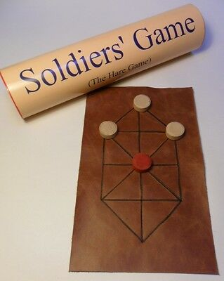 The Soldiers' Game/Hare Game; Napoleonic/Medieval historic board game