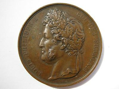 France 1841, Chartres District Agricultural show. Copper 37mm.