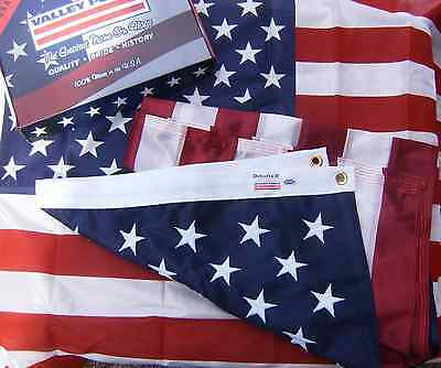 Valley Forge US American Flag 3'x5' Duratex II Tricot Knit Poly EXTREME WEATHER