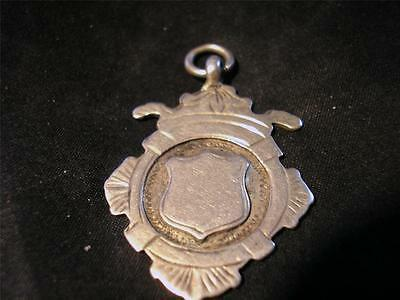 Lovely Art Deco Quality Solid Silver Fob, Birm,1919