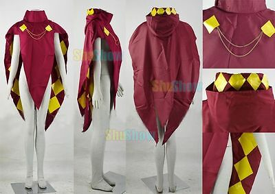 The Legend of Zelda Skyward Sword Ghirahim Cloak cosplay Costume Custom Made