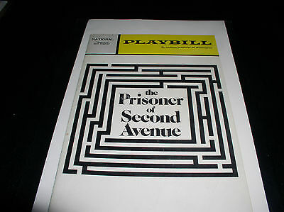 "The Playbill, National ""america's First Theatre"" November 1971"