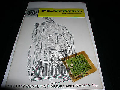 The Playbill For The City Center Of Music And Drama, Inc February 14, 1959