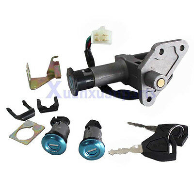 Ignition Key Switch Lock Set 50-150cc GY6 Moped Motorcycle Scooter chinese part