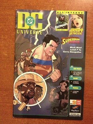 [V] DC UNIVERSE n. 2 dic 2003  play press Mark Waid Leinil F Yu OTTIMO
