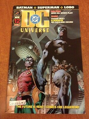 [V] DC UNIVERSE n. 12 ott 2004  play press OTTIMO