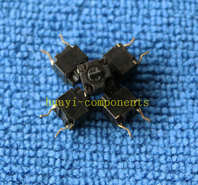 3pcs Brand New Panasonic Square Micro Switch for Mouse Black Button