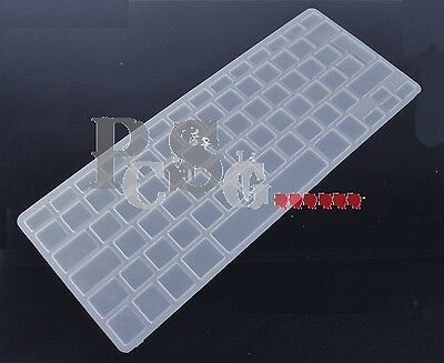 Clear Transparent Uk Eu Apple Imac Wireless Keyboard Silicone Cover Protector