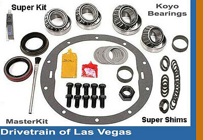 "Motive Super Master Bearing Rebuild Kit GM 8.6"" 8.5"" 10 Bolt Late Chevy 1500 NEW"