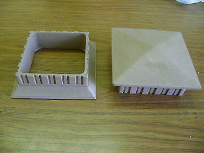 GRAY RHINO DECK POST CAP & POST SKIRT WITH COMBINE SHIPPING COST