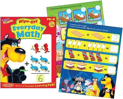 Everyday Maths Wipe Off Educational Activity Book