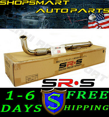 SRS 1995-1999 MITSUBISHI ECLISE GST FWD 4G63 DOWNPIPE STAINLESS TURBO DOWN PIPE