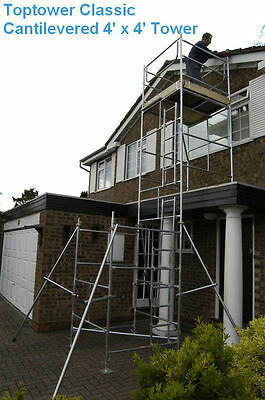 DIY Scaffold Tower 6.45m (WH) For Sloping - Flat Roof Dormer Window Problems