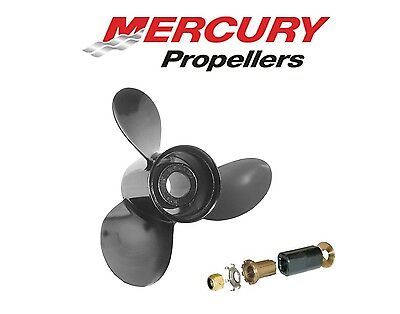 Mercury Mariner Sail 4HP 5HP 6HP 2//4-Stroke Outboard High Thrust Propeller