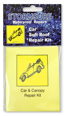 Convertible / Soft Car Roof Repair Kit ( Fabric and Window Fix ) | STORMSURE
