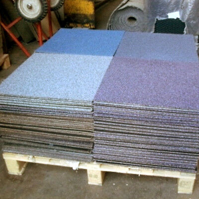 200 Carpet Tiles MIXED PALLET Commercial Heavy Duty Office Shop Contract Joblot