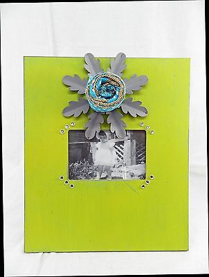4x6 Shabby Chic Antique Style Photo Picture Frame Green Blue  New 4 x 6