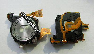 Genuine Lens Zoom Unit For CANON Powershot SD1400 IXUS130 IS with CCD Silver